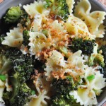 Delicious Bowtie Pasta with Roasted Broccoli on The Creekside Cook
