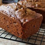 Recipe for Pumpkin Bread with Walnuts and Raisins on The Creekside Cook